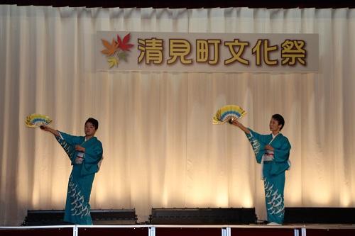 文化祭にて